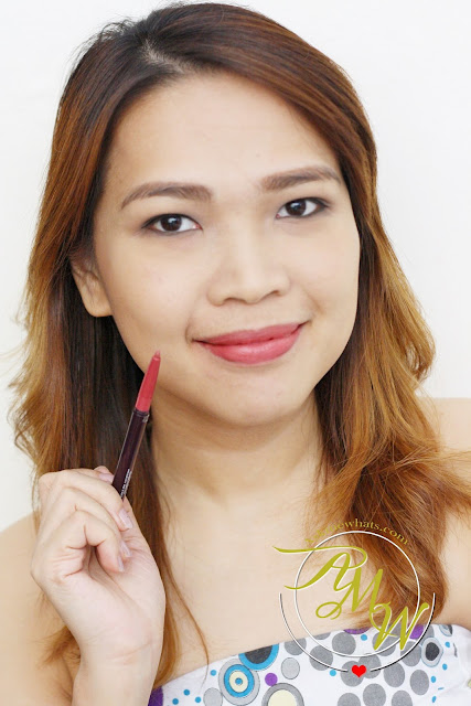 a photo of Etude House Soft Touch Auto Lipliner in shade 5 on Nikki Tiu_AskMeWhats