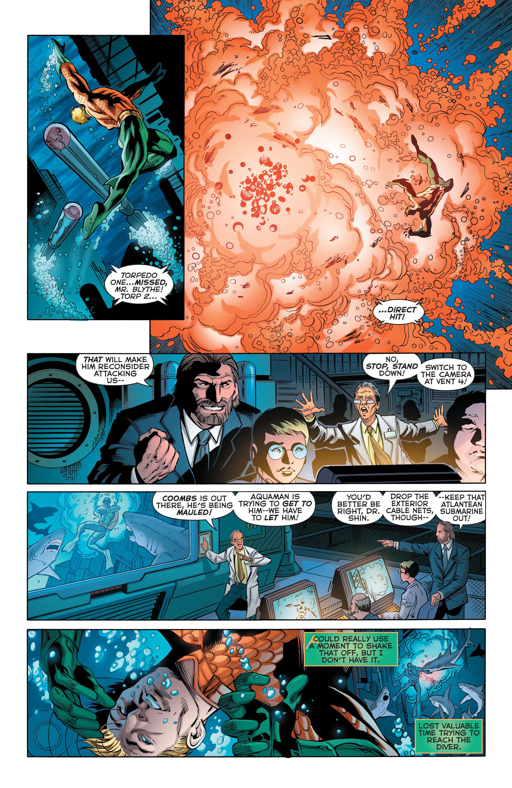 Read online Aquaman (2011) comic -  Issue #28 - 5