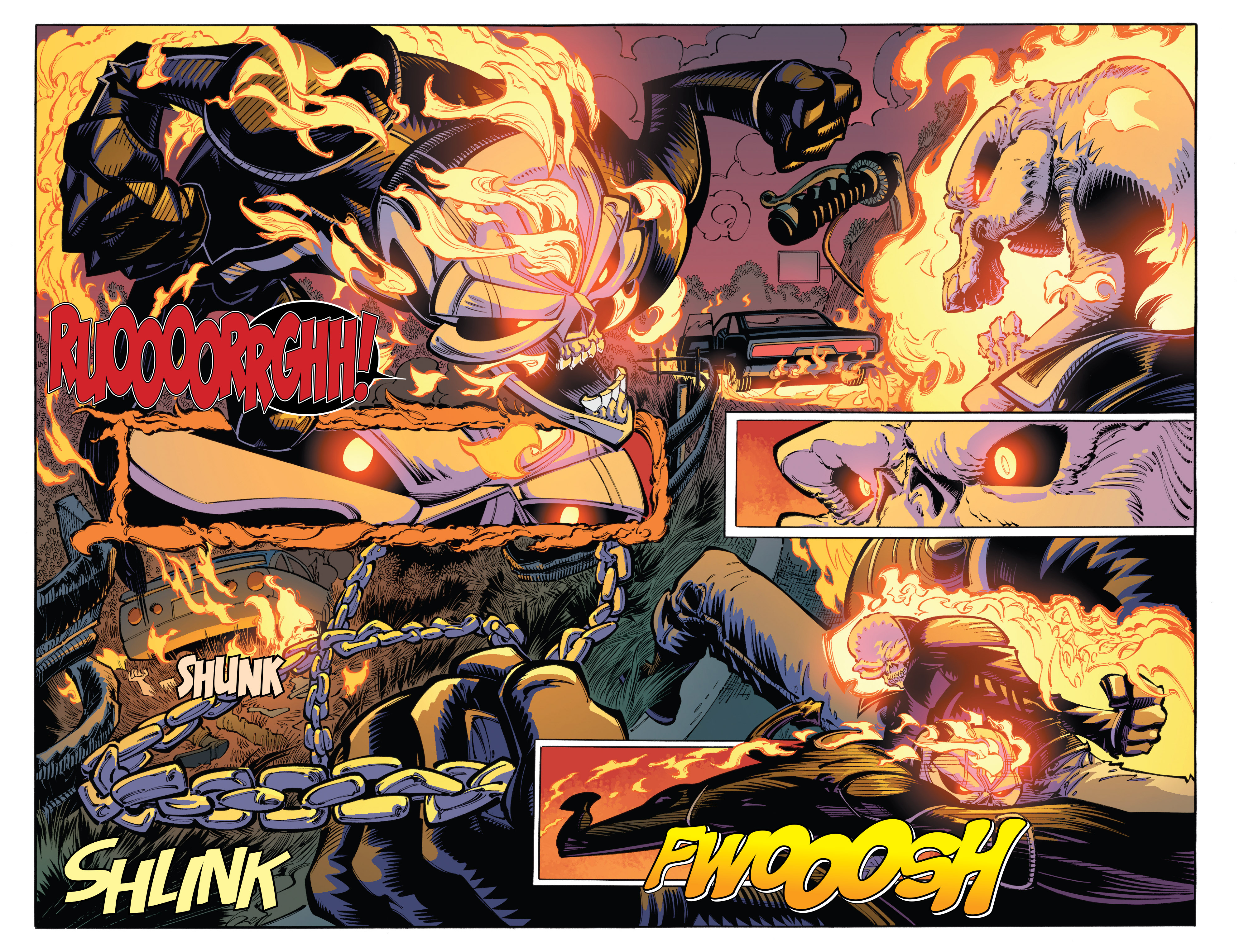 Read online All-New Ghost Rider comic -  Issue #8 - 4