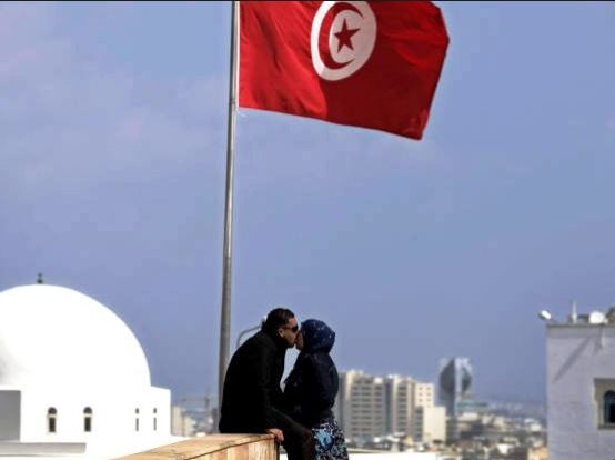 """Tunisia jails couple for public indecency"""" after they were caught naked in their car"""