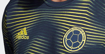 0b2fc2588 Colombia 2019 Copa America Pre-Match Shirt Leaked
