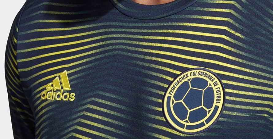 7b0ff01eb Colombia 2019 Copa America Pre-Match Shirt Leaked