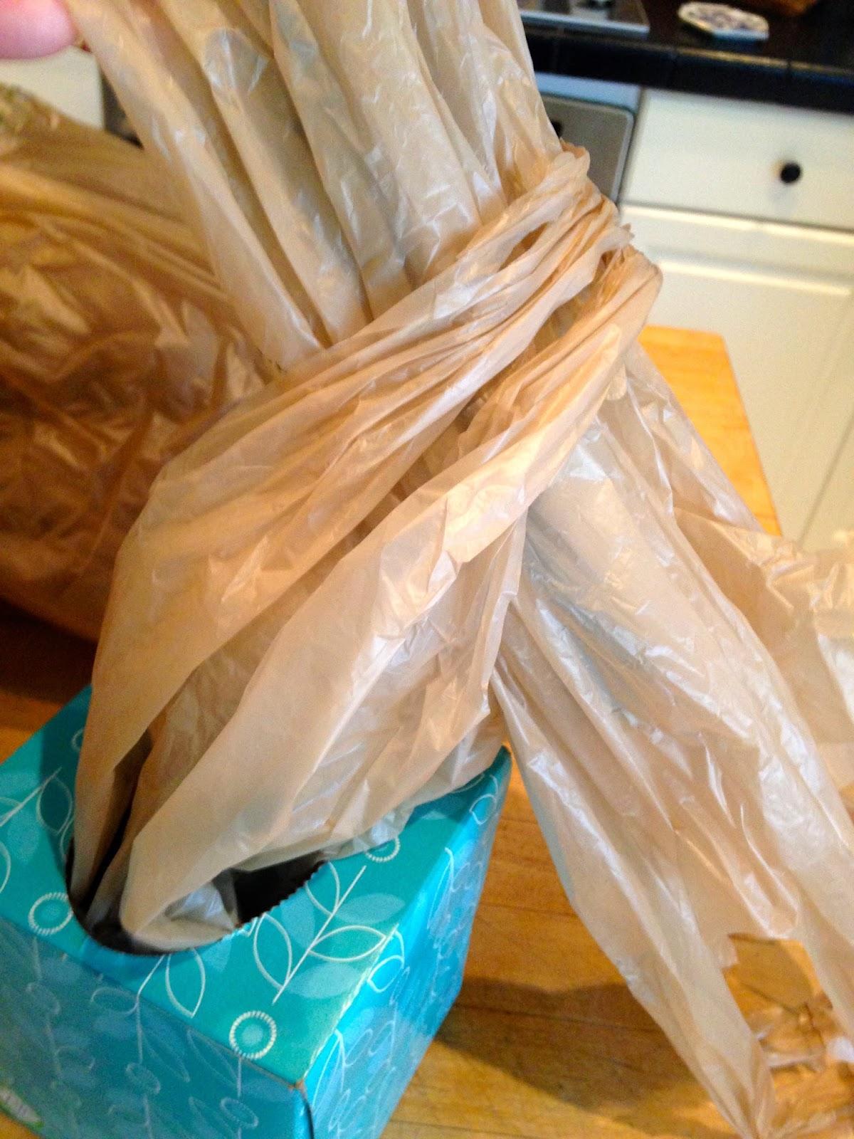 May Days Diy Plastic Bag Dispenser