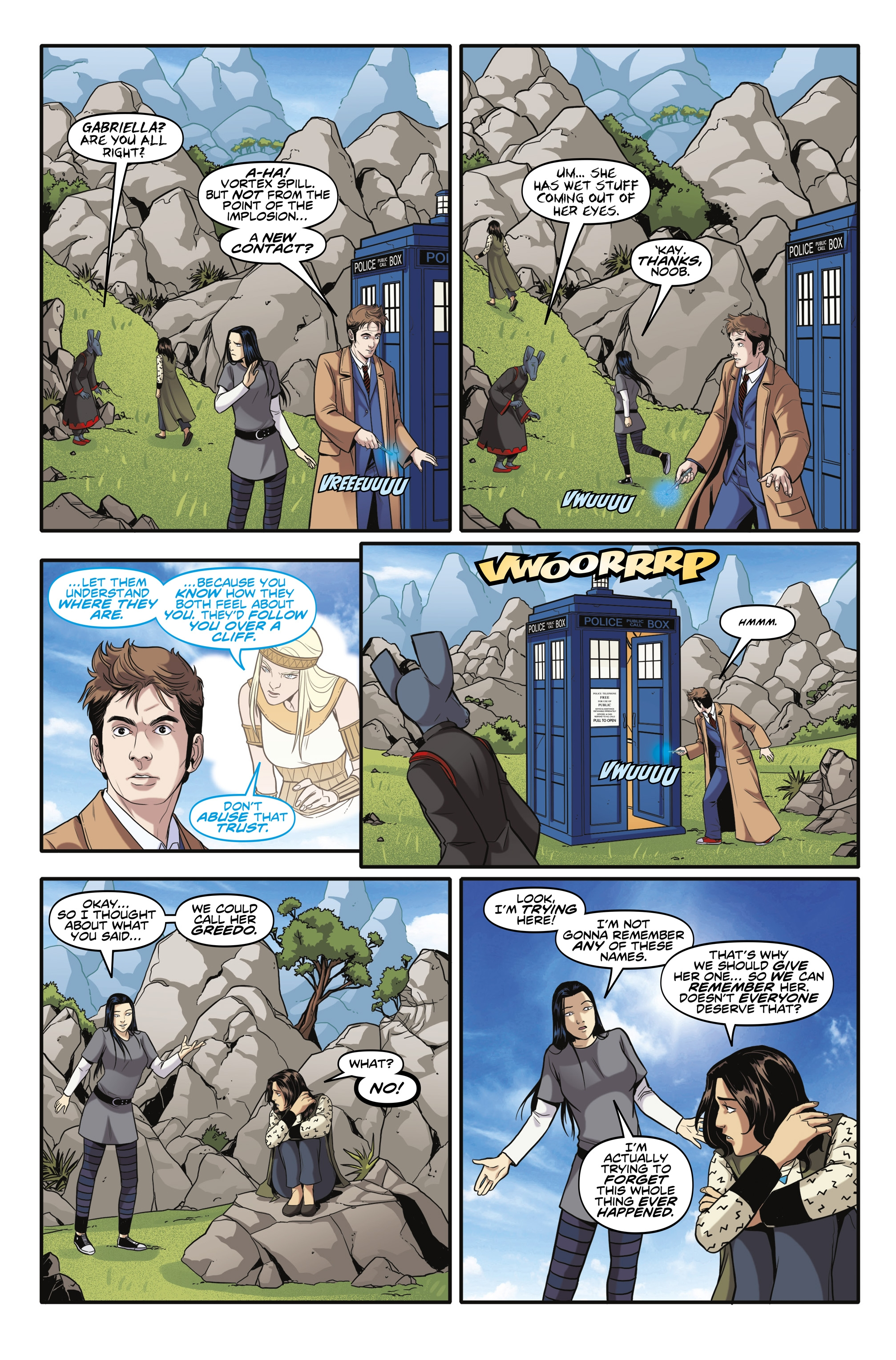 Read online Doctor Who: The Tenth Doctor Year Three comic -  Issue #6 - 11