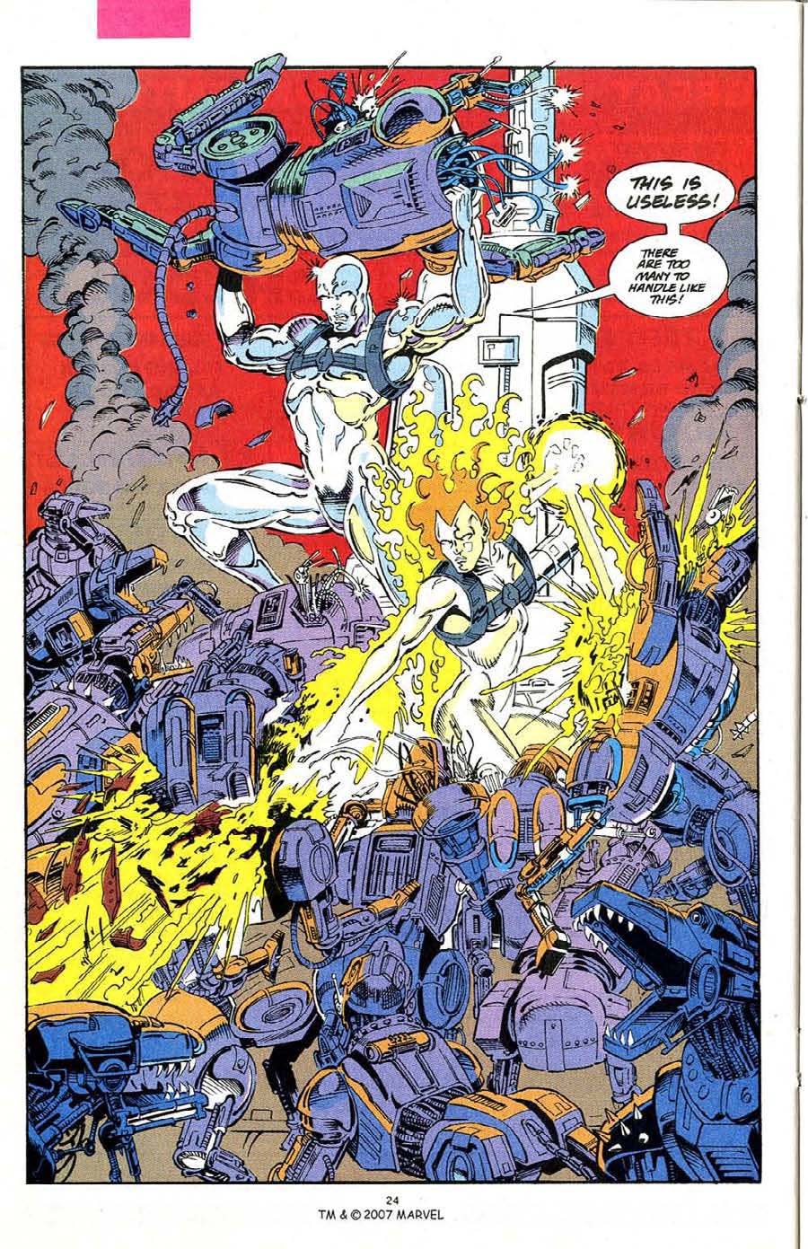 Read online Silver Surfer (1987) comic -  Issue #68 - 26