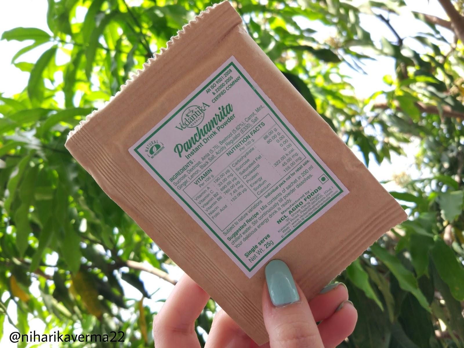 Vedantika Herbals - Panchamrita Instant Energy Drink 6