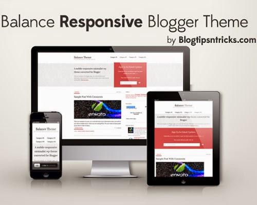 balance Top best premium blogger templates free