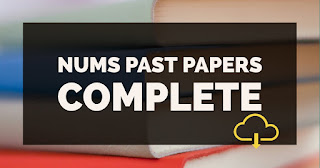 NUMS past paper solved 2016-17 complete pdf format