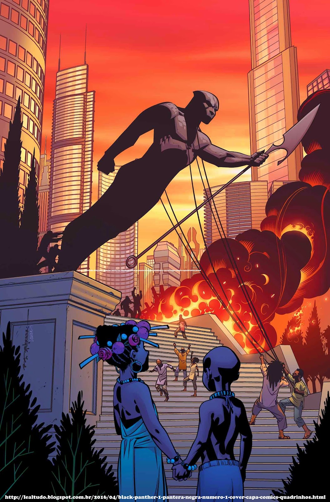 BLACK PANTHER #1 PANTERA NEGRA Número 1 By Ta-Nehisi Coates & Brian Stelfreeze - Desenhos Drawings Comics Revista em Quadrinhos - REVOLUÇÃO