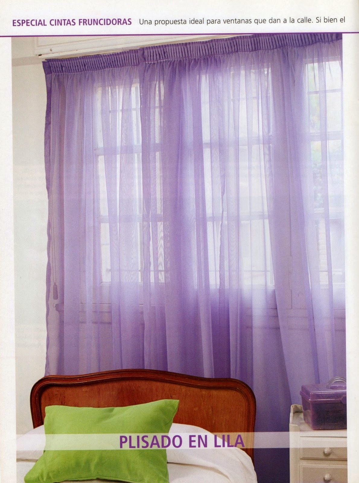 Como hacer cortinas paso a paso revistas de manualidades - Cortinas de goma ...