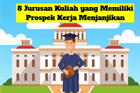 8 Jurusan Kuliah yang Memiliki Prospek Kerja Menjanjikan dan Gaji Besar