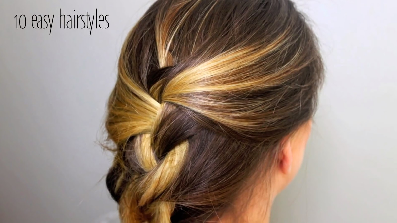 Brilliant Stylevia Top 10 Easy Hairstyles Can Set In 5 Minutes Hairstyles For Women Draintrainus