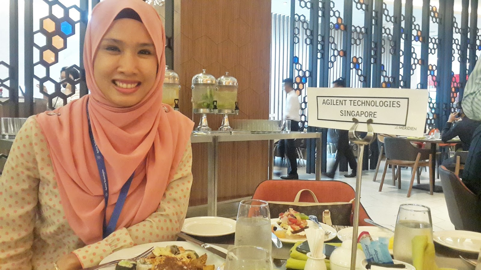 The People I Met & The Story I Heard During Agilent MS Technology Seminar At Le Meridien Putrajaya