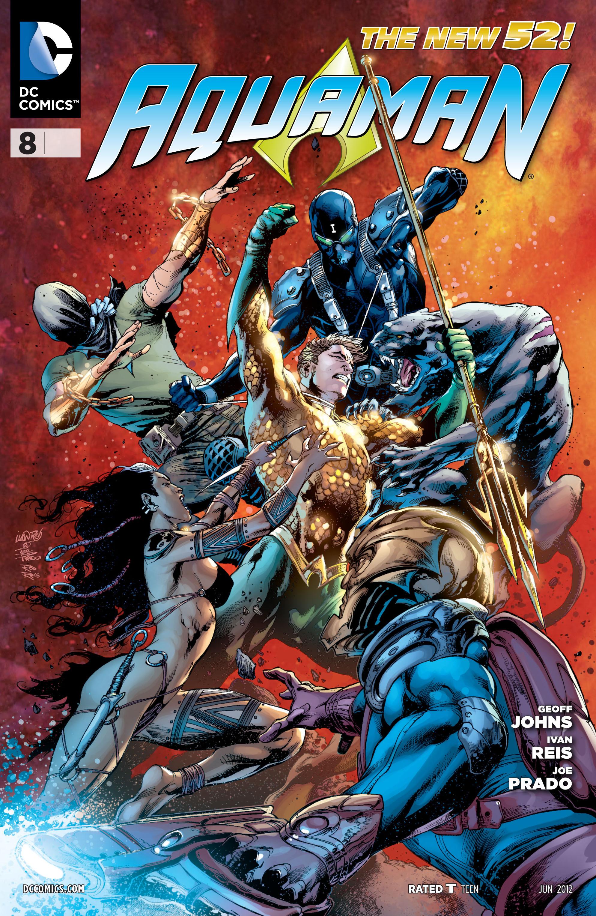 Read online Aquaman (2011) comic -  Issue #8 - 1