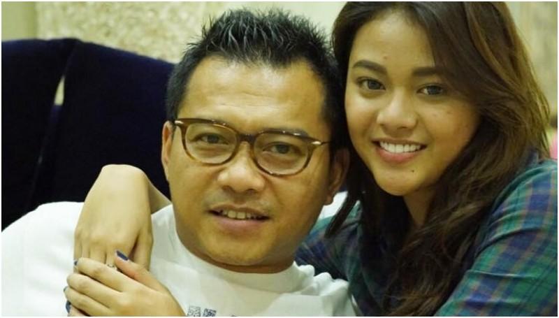 Anang Hermansyah dan putrinya, Aurel