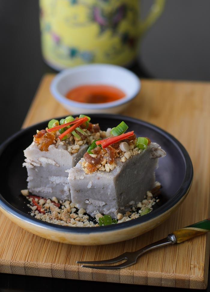 Savoury Yam Cake / Or Kueh