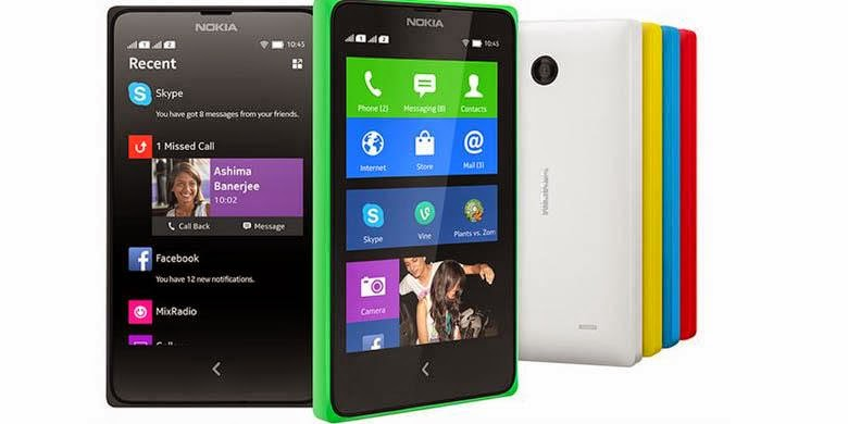 Harga dan Spesifikasi Nokia X Android Terbaru