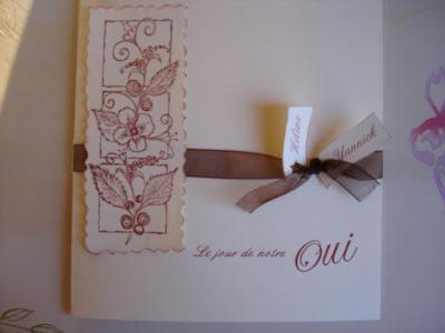 cartes mariage gratuites à imprimer