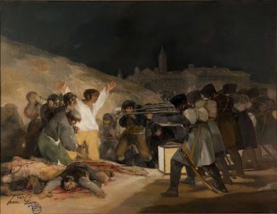 Goya: 'El tres de mayo en Madrid'