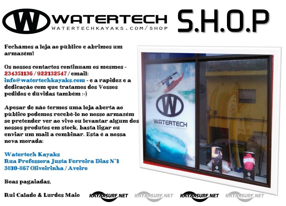 69d2d47664adb Watertech Kayaks SHOP   Novidades da Loja Watertech Kayaks   NEW Address