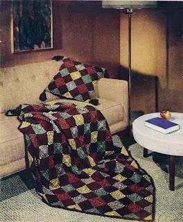 Crochet Patchwork Pillow Pattern