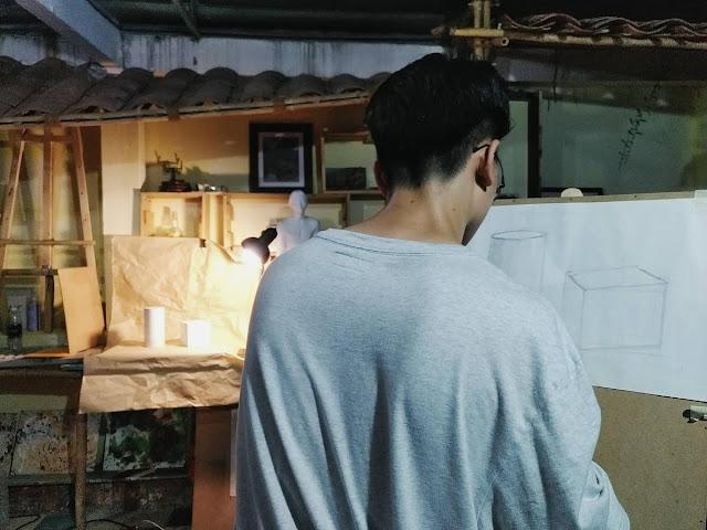 Cách tự học vẽ cơ bản tại nhà dành cho người luyện thi vẽ online vào đại học