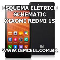 Esquema Elétrico Smartphone Celular Xiaomi Redmi 1S Plus Manual de Serviço  Service Manual schematic Diagram Cell Phone Smartphone Celular Xiaomi Redmi 1S Esquematico Smartphone Celular Xiaomi Redmi 1S