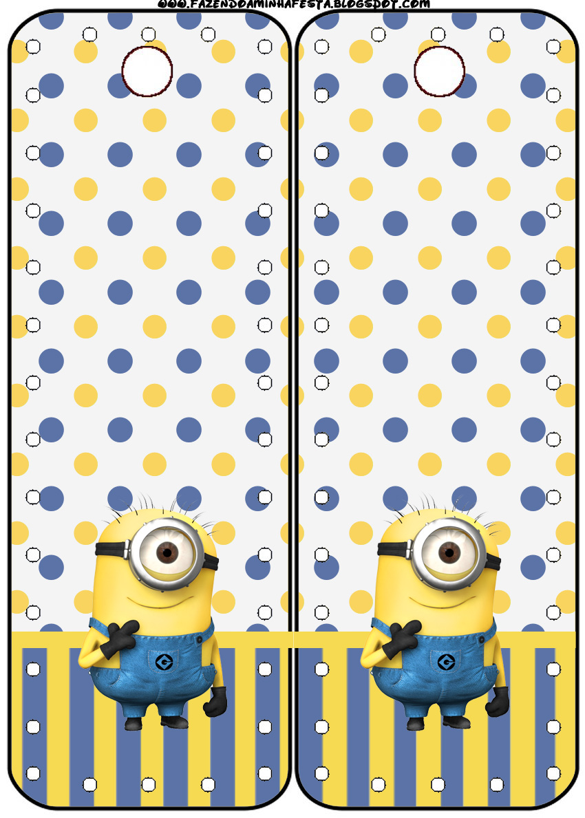 Minions Free Printable Party Stationery  Oh My Fiesta