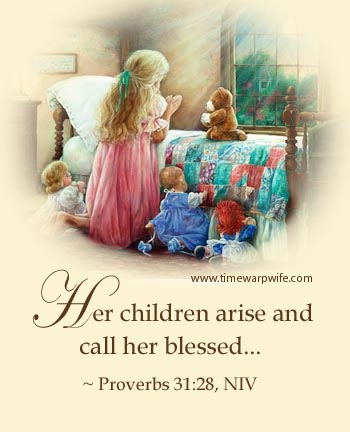 Proverbs 31 Scripture - Free Printables - Time-Warp Wife