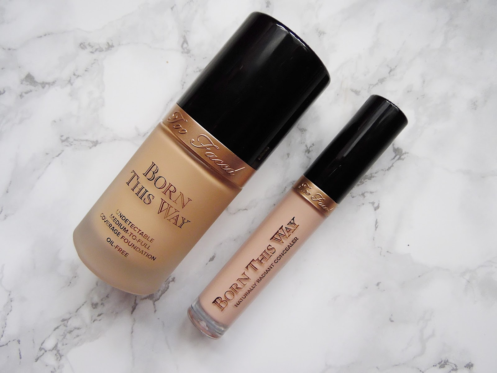 Too Faced Born This Way Foundation & Concealer