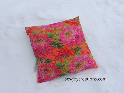 kaffe fasset print pillow cushion
