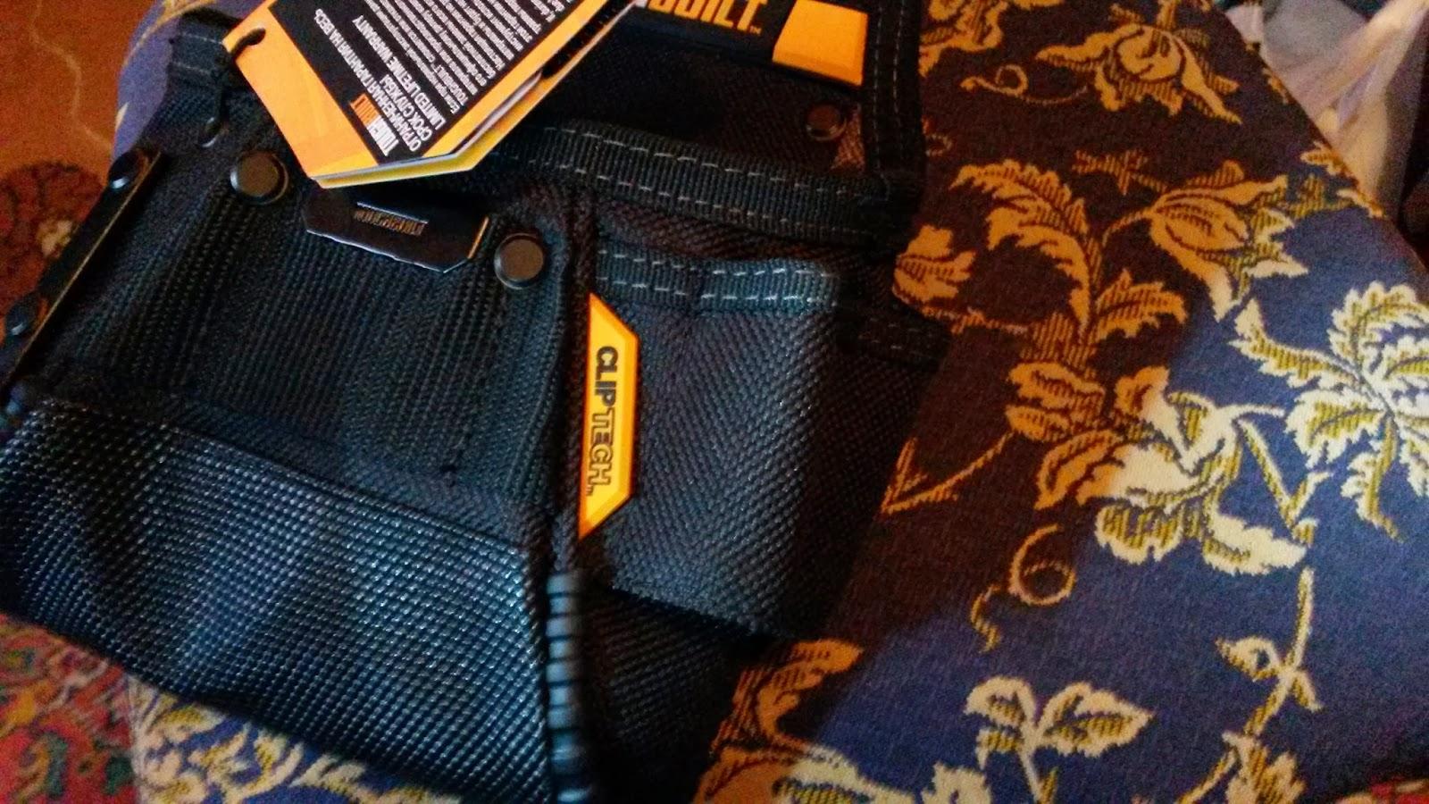 остальные карманы пояной сумки монтажника