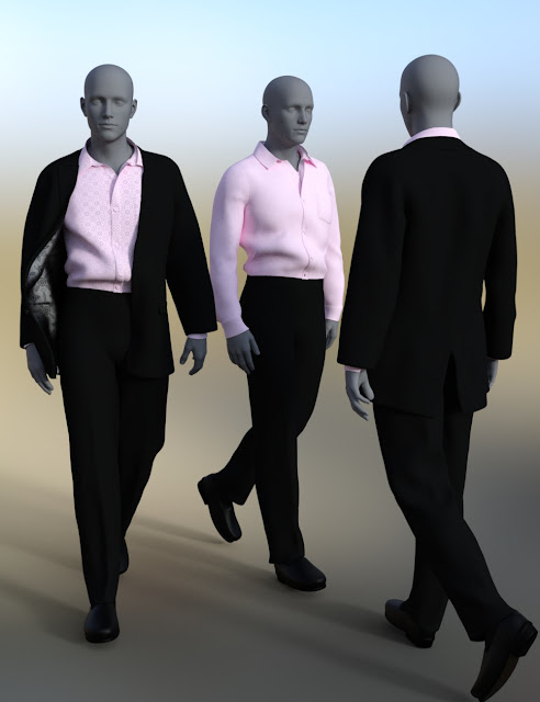 dForce Informal Suit for Genesis 8 Male