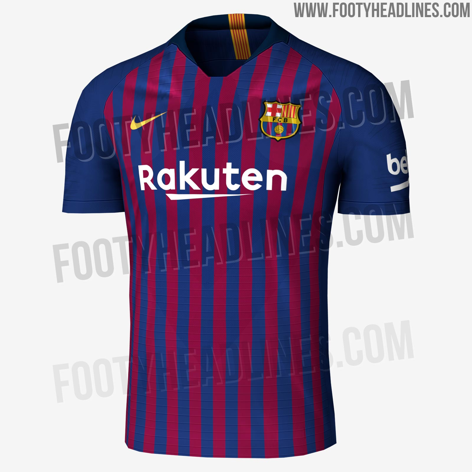 Exclusive fc barcelona 18 19 home kit leaked release - New home barcelona ...