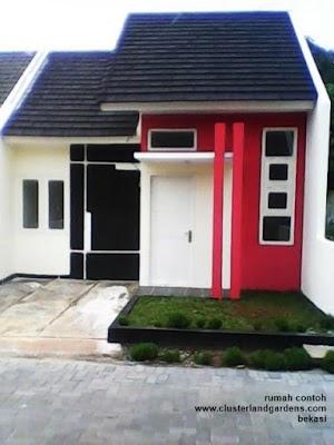 Harga Terbaru Rumah Murah Cluster Land Gardens Bekasi - 4 Km Dari Giant Wisma Asri