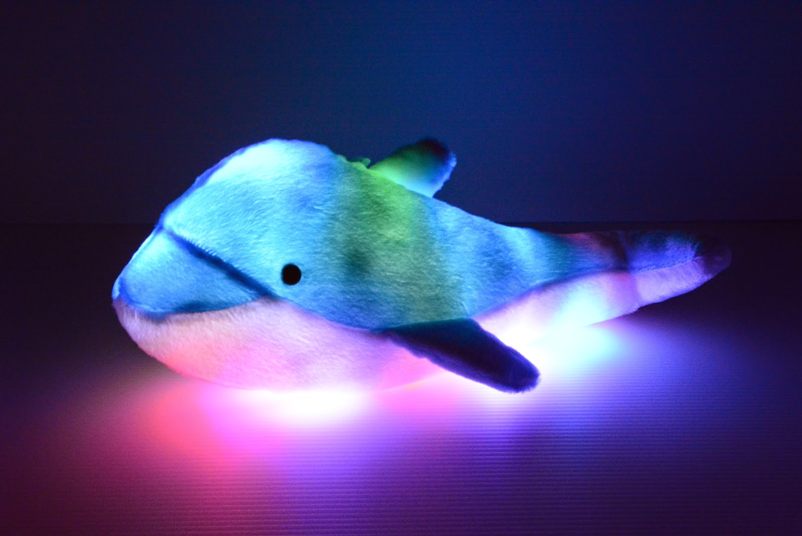 Led Light Up Glow Products : LED Light Up Dolphin Pillow Pet