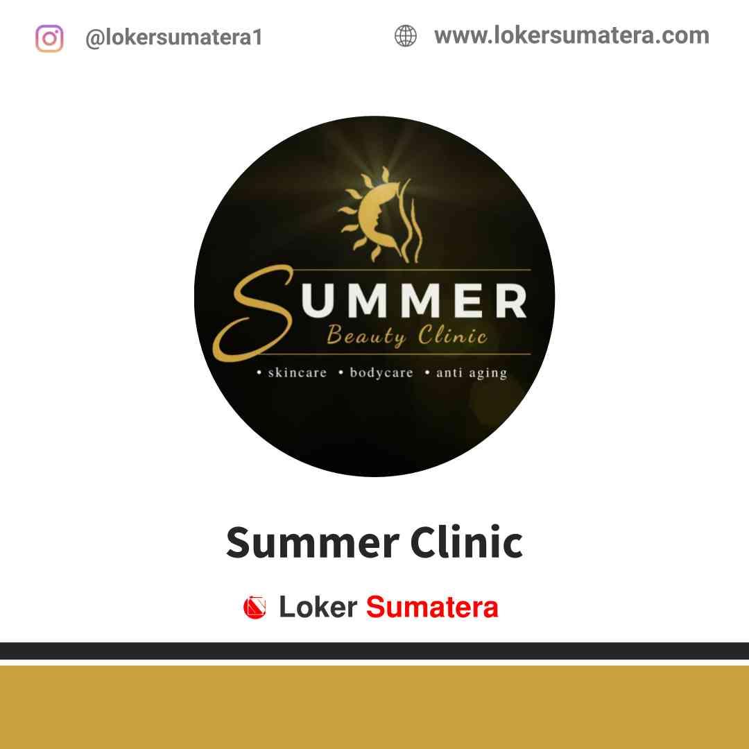 Lowongan Kerja Palembang, Summer Clinic Agustus 2021