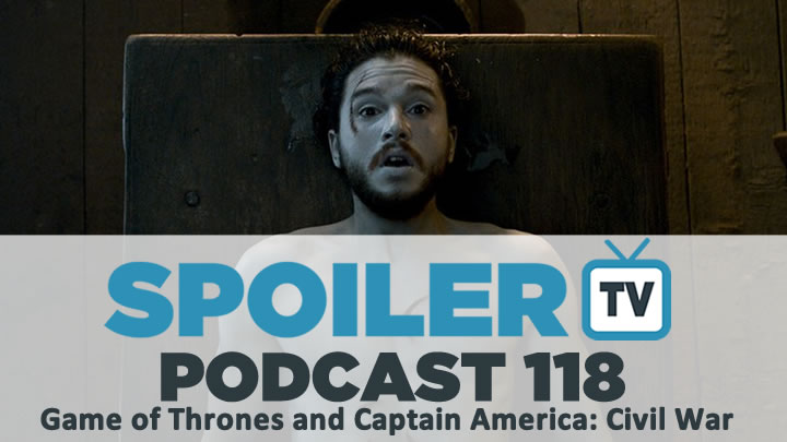 STV Podcast 118 - Jon Snow, Person of interest and Spider-Man return