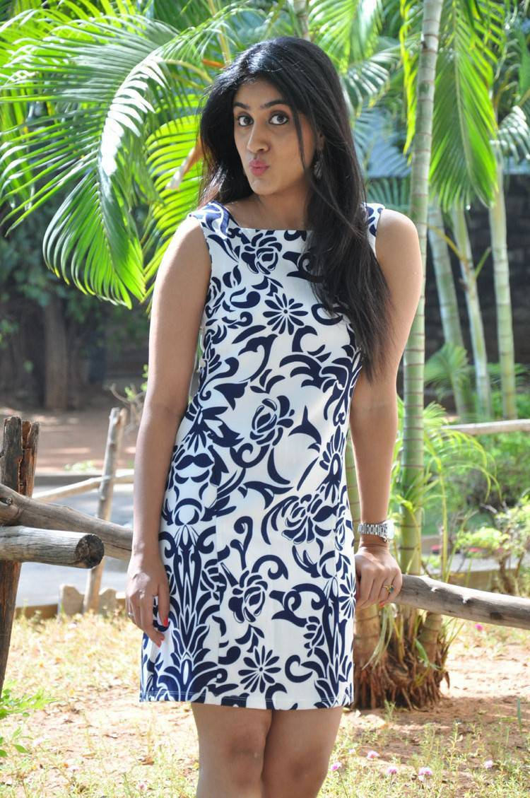 Actress Dhanya Balakrishna Latest Cute Hot Mini Skirt Dress Spicy Thighs Show Photos Gallery At Rajugari Gadi Release Press Meet