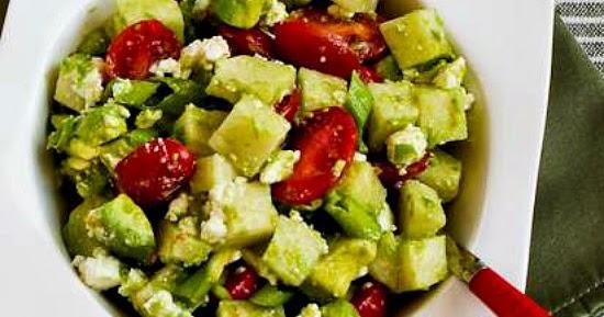 ... ®: Cross-Cultural Salad with Tomato, Avocado, Jicama, Lime, and Feta