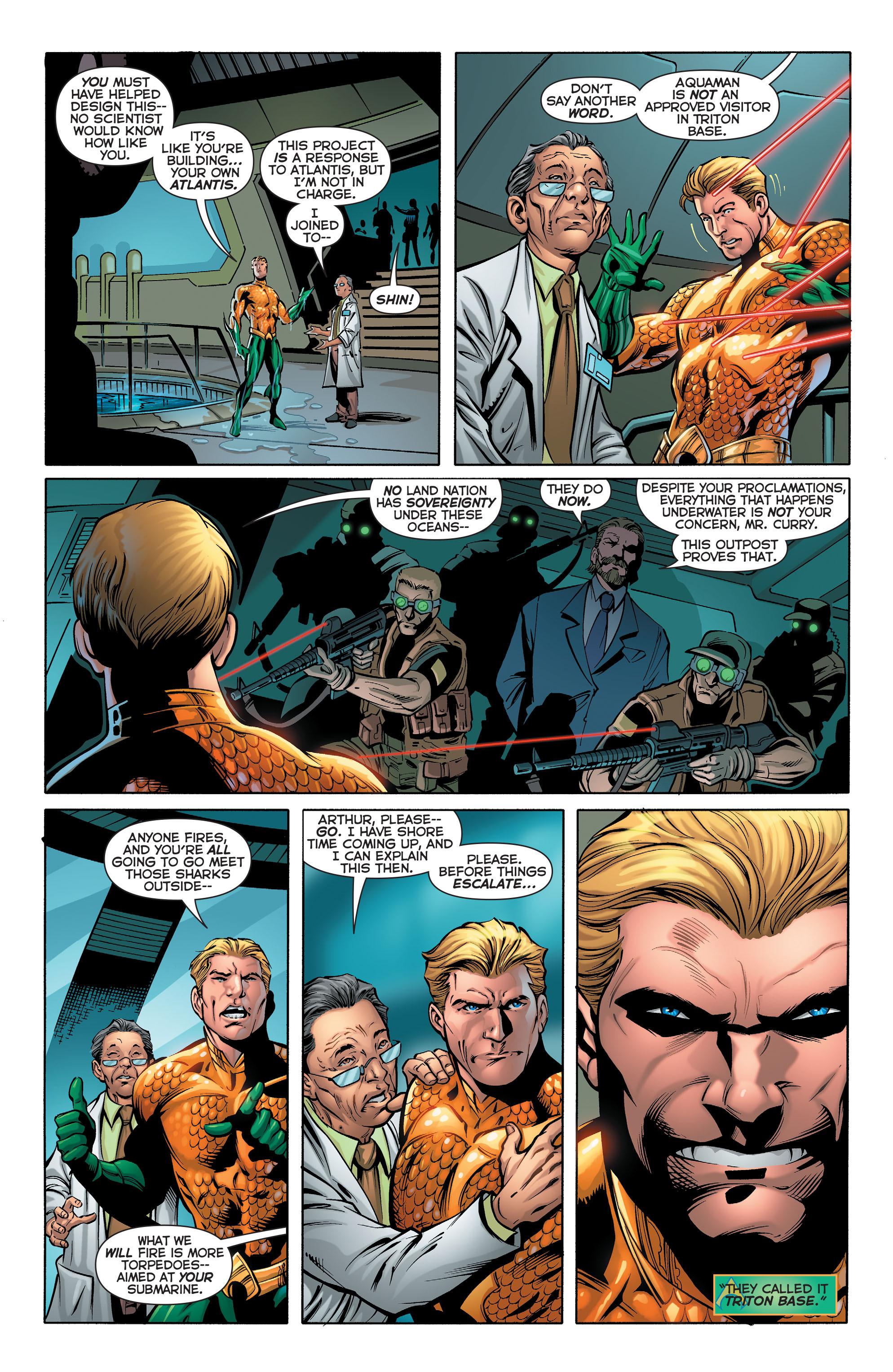 Read online Aquaman (2011) comic -  Issue #28 - 8