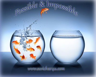 Great Quotes of Possible and Impossible
