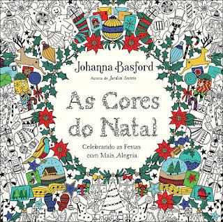 as cores do natal johanna basford livro de colorir para sextante johanna's christmas lançamento novidade previa por dentro conheça brasil portugues