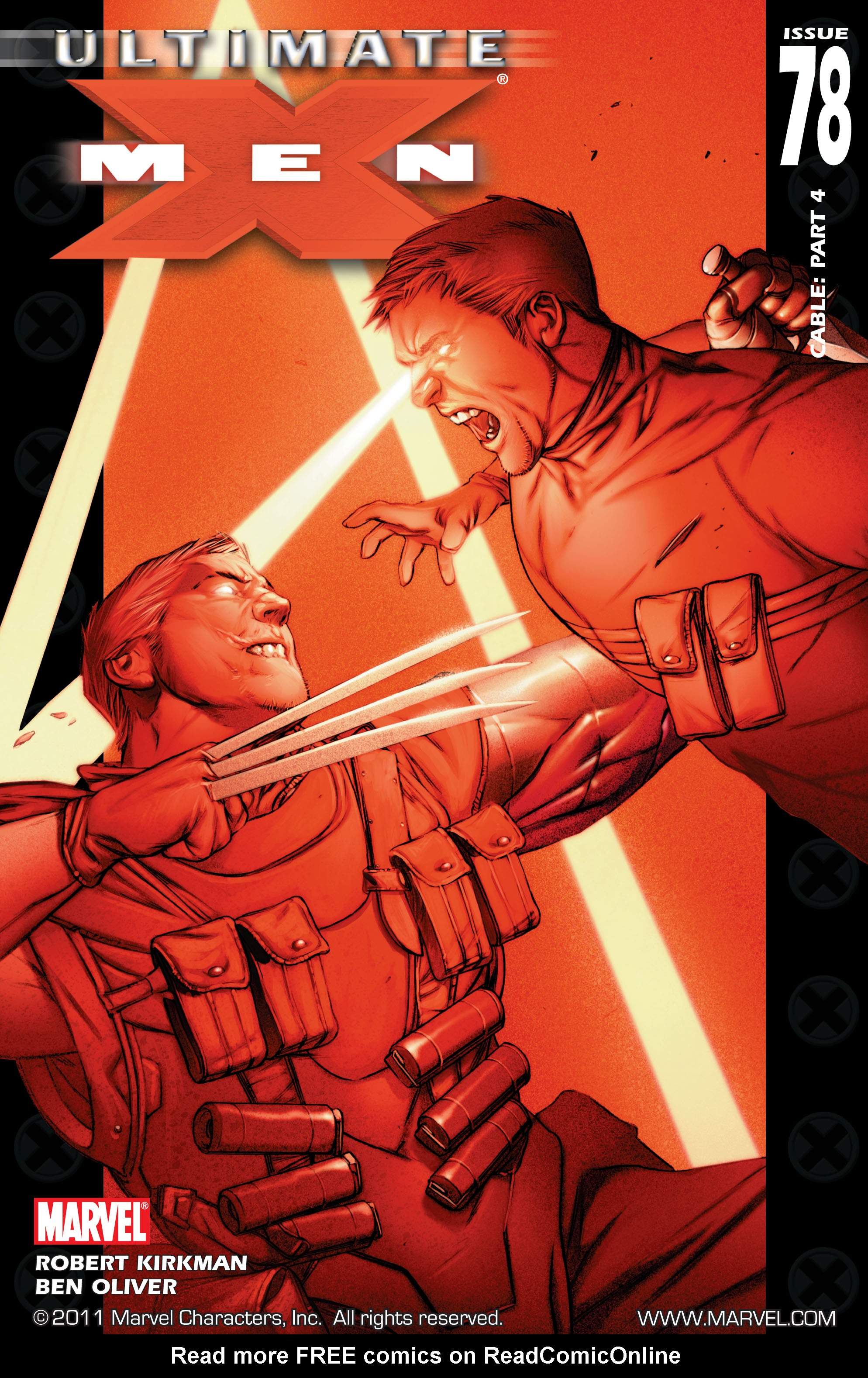 Read online Ultimate X-Men comic -  Issue #78 - 1