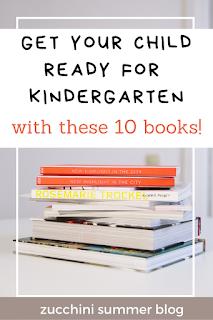 10 books to help your child prepare for kindergarten