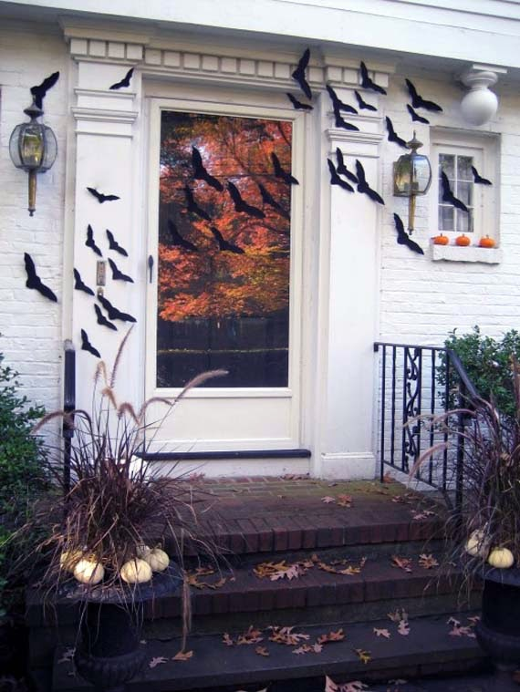 Halloween Door Decorating Contest Ideas - AyanaHouse