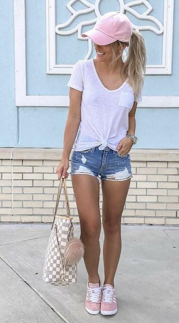 dicas de estilo com short jeans