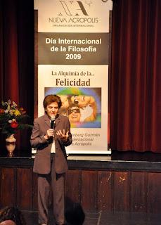 Delia Steinberg Guzmán Presidenta de Nueva Acrópolis