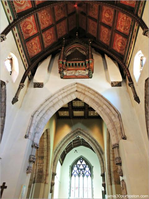 Catedral de Christ Church: Órgano