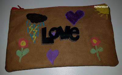 SnapPap met textielstiften versieren MaMarieke